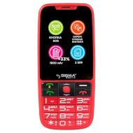 Мобильный телефон SIGMA MOBILE Comfort 50 Elegance 3 Red