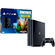 Игровая приставка SONY PlayStation 4 Pro Black + Fortnite