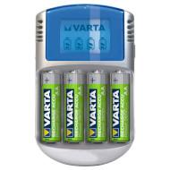 Зарядное устройство VARTA LCD + 4 x AA 2500 mAh (57070 201 451)