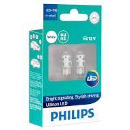 Лампа світлодіодна PHILIPS Ultinon LED W5W 2шт (11961ULWX2)