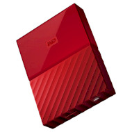 Портативный жёсткий диск WD My Passport 2TB USB3.0 Red (WDBS4B0020BRD-WESN)