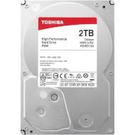 "Жёсткий диск 3.5"" TOSHIBA P300 Bulk 2TB SATA/64MB (HDWD120UZSVA)"