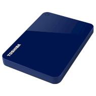 Портативный жёсткий диск TOSHIBA Canvio Advance 1TB USB3.0 Blue (HDTC910EL3AA)