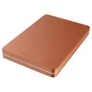 Портативный жёсткий диск TOSHIBA Canvio Alu 1TB USB3.0 Red (HDTH310ER3AB)
