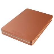 Портативный жёсткий диск TOSHIBA Canvio Alu 500GB USB3.0 Red (HDTH305ER3AB)