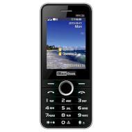 Мобильный телефон MAXCOM Classic MM136 Black/Silver