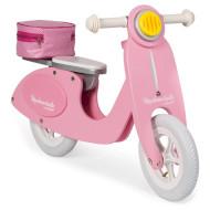 Беговел JANOD Ретро скутер розовый (J03239)