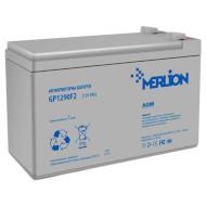 Акумуляторна батарея MERLION GP1290F2 (12В 9Ач) (GP1290F2 WHITE)