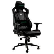 Кресло геймерское NOBLECHAIRS Epic Black/Green (GAGC-074)