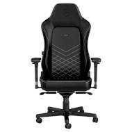 Крісло геймерське NOBLECHAIRS Hero Black/Platinum (GAGC-117)
