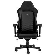 Крісло геймерське NOBLECHAIRS Hero Real Leather Black (GAGC-118)