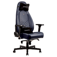 Кресло геймерское NOBLECHAIRS Icon Real Leather Midnight Blue (GAGC-092)