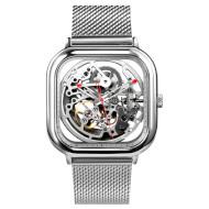 Часы наручные XIAOMI CIGA Design Hollowed-out Mechanical Watch Silver (Z011-SISI-13)