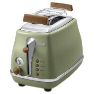Тостер DELONGHI Icona Vintage CTOV 2103.GR (0176129047)