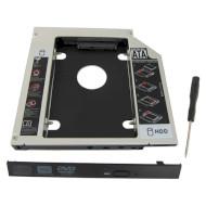 """Адаптер-перехідник Optibay 12.7mm ULTRA HDC-OEM-12 Kit 2.5"""" SATA"""