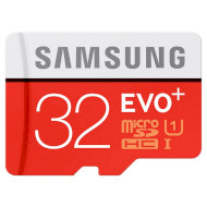 Карта памяти SAMSUNG microSDHC EVO Plus 32GB UHS-I Class 10 + SD-adapter (MB-MC32GA/RU)