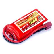 Аккумулятор DINOGY Sport 1000мАч 7.4В T-Plug (DLC-2S1000D-T)