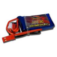 Аккумулятор DINOGY High Power 300мАч 7.4В JST (DLC-2S300H-JST)