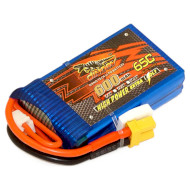 Аккумулятор DINOGY High Power Li-Pol 600мАч 7.4В XT30 (DLC-2S600H-XT30)