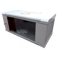 "Шкаф настенный 19"" HYPERNET WMNC-30-4U Flat (4U, 600x300мм, RAL7035)"