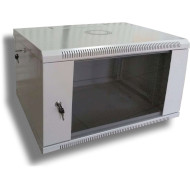 "Шкаф настенный 19"" HYPERNET WMNC-35-6U-Flat (6U, 600x350мм, RAL7035)"