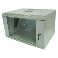 "Шкаф настенный 19"" HYPERNET WMNC-9U-Flat (9U, 600x450мм, RAL7035)"