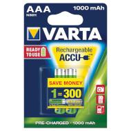 Аккумулятор VARTA Rechargeable Accu AAA 1000мАч 2шт/уп (05703 301 402)