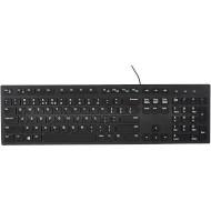 Клавіатура DELL KB216 UA Black (580-AHHE)