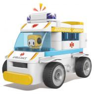 Конструктор PAI Ambulance 69дет. (62003W)