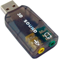 Внешняя звуковая карта DYNAMODE USB-SOUNDCARD2.0