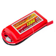 Аккумулятор DINOGY Sport Li-Pol 1300мАч 7.4В JST (DLC-2S1300D-JST)
