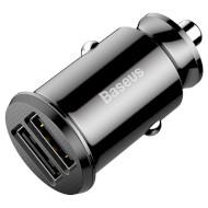Автомобильное зарядное устройство BASEUS Small Rice Grain Black