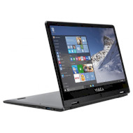 Ноутбук VINGA Twizzle J116 Black (J116-C404120B)
