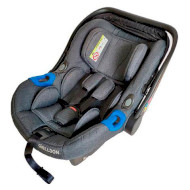 Автолюлька WELLDON Diadem New Isofix Graphite (BS06N-TM-002)