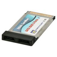 Адаптер MAXXTER PCMCIA to 2-Ports SATA (NPES-2)