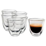 Набор стаканов DELONGHI Espresso 60мл 6шт