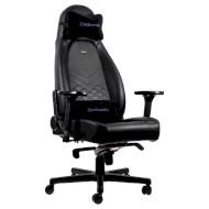 Кресло геймерское NOBLECHAIRS Icon Black/Blue (GAGC-088)