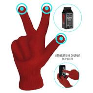 Перчатки для сенсорных экранов AIRON iGlove Red