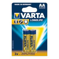 Батарейка VARTA Longlife AA 2шт/уп (04106 101 412)