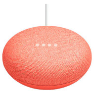 Умная колонка GOOGLE Home Mini Coral