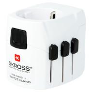 Переходник сетевой SKROSS Pro Light USB Europe (1.302540)