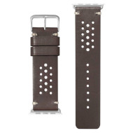 Ремешок LAUT Heritage Watch Strap for Apple Watch 42/44mm Burgundy