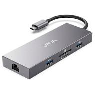 Порт-репликатор VAVA 8-in-1 USB-C Adapter with Power Delivery (VA-UC008)
