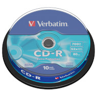 CD-R VERBATIM Extra Protection 700MB 52x 80min 10pcs/spindle (43437)