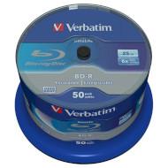BD-R SL VERBATIM DataLife 25GB 6x 50pcs/spindle (43838)