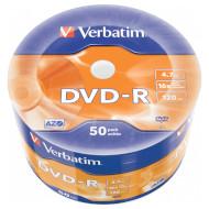 DVD-R VERBATIM Matt Silver 4.7GB 16x 120min 50pcs/wrap (43788)
