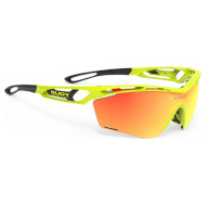 Очки RUDY PROJECT Tralyx Slim Gloss Yellow Fluo w/RP Optics Multilaser Orange (SP464076-0000)