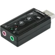 Внешняя звуковая карта MANHATTAN Hi-Speed USB 3D 7.1
