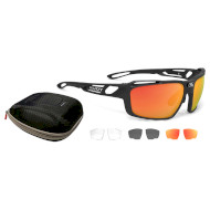 Очки RUDY PROJECT Sintryx Matte Black w/RP Optics Multilaser Orange/Black/Transparent (SP494006-S000)