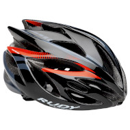 Шлем RUDY PROJECT Rush Black/Red Fluo Shiny L (HL570053)
